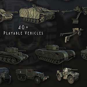 Spielbare Fahrzeuge