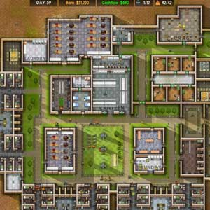 Prison Architect Instrumententafel