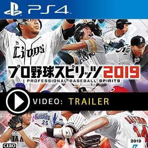 Pro Baseball Spirits 2019 PS4 Digital Download und Box Edition