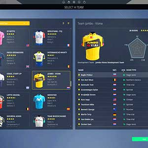 Pro Cycling Manager 2021 Team Auswählen