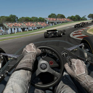 Project Cars PS4 First Person View