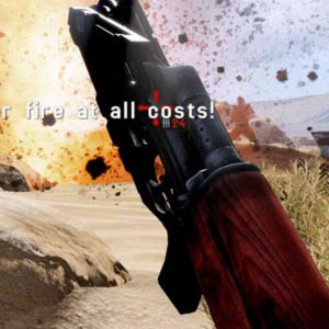 Rambo The Video Game Waffe