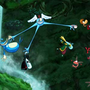 Rayman Origins - Jungle Herausforderung