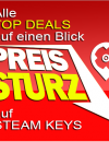 PC SPIELE CD-KEYS TOP DEALS am 23. Oktober 2015