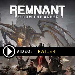 Überbleibsel aus dem Video des Ashes-Trailers