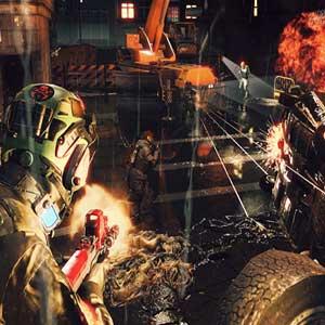 Resident Evil Umbrella Corps Schlacht