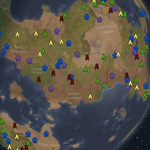RimWorld Startplatz-Auswahl