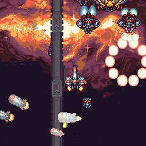 split-screen vertical shmup