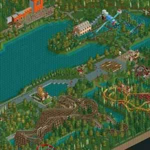 RollerCoaster Tycoon 2 Triple Thrill Pack Luftaufnahme