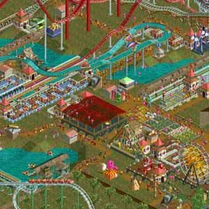 RollerCoaster Tycoon 2 Triple Thrill Pack Theme Park