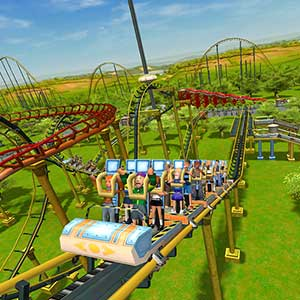 RollerCoaster Tycoon 3 Complete Edition Achterbahn