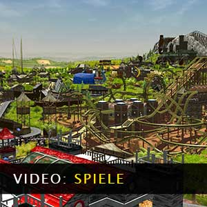 RollerCoaster Tycoon 3 Complete Edition Gameplay-Video