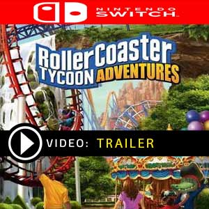 RollerCoaster Tycoon Adventures Nintendo Switch Digital Download und Box Edition