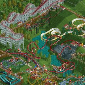 Rollercoaster Tycoon Deluxe Achterbahn