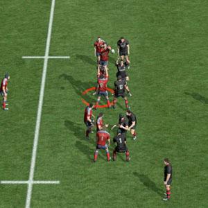 Rugby 15 Spieler wählen