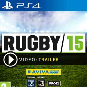 Rugby 15 PS4 Digital Download und Box Edition