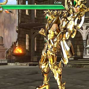 Saint Seiya Soldiers Soul Interface