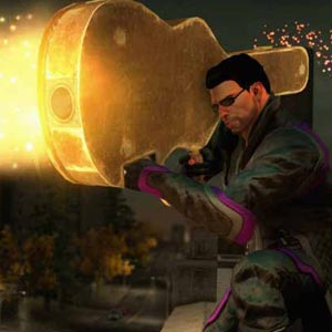Saints Row 4 Xbox One Charakter Waffe