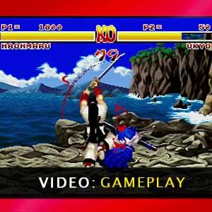 Samurai Shodown Neo Geo Collection Gameplay Video