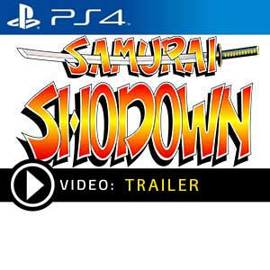Samurai Shodown PS4 Digital Download und Box Edition