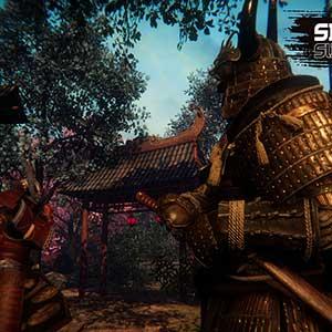 eine Samurai-Kunst beherrschen