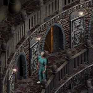 Sanitarium Screenshot: Entlang der Schloss Korridore