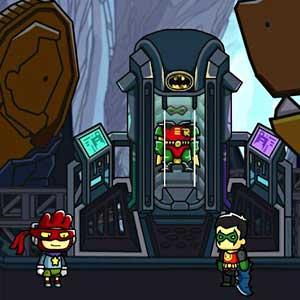 Scribblenauts Unmasked A DC Comics Adventure - Bat Höhle