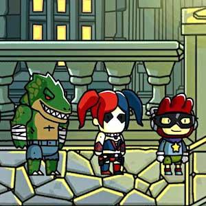 Scribblenauts Unmasked A DC Comics Adventure - Schufte