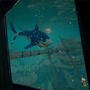 Insel im Sea of Thieves