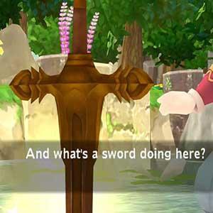 Randi entdeckt das Mana Schwert