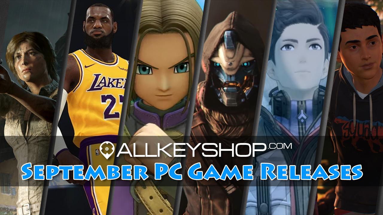 Top PC-Spiele im September 2018
