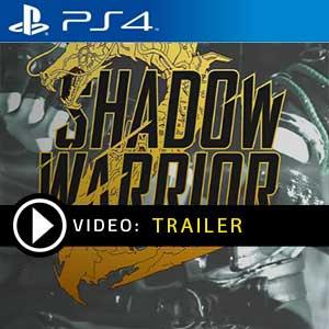 Shadow Warrior 2 PS4 Digital Download und Box Edition