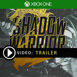 Shadow Warrior 2 Xbox One Digital Download und Box Edition