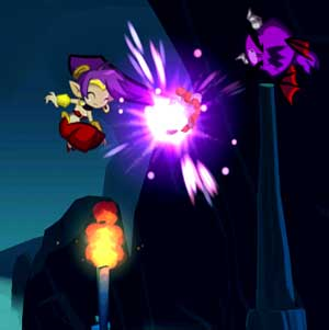 Shantae Haar-Peitsche Angriff