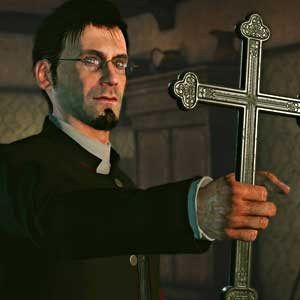 Sherlock Holmes The Devils Daughter Xbox One - Priester