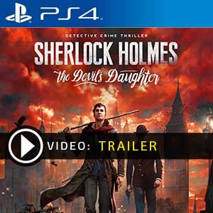 Sherlock Holmes The Devils Daughter PS4 Digital Download und Box Edition