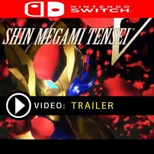 Shin Megami Tensei V Nintendo Switch Digital Download und Box Edition