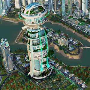Simcity Elite Mega Tower