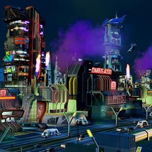 Simcity Omega Fabrik