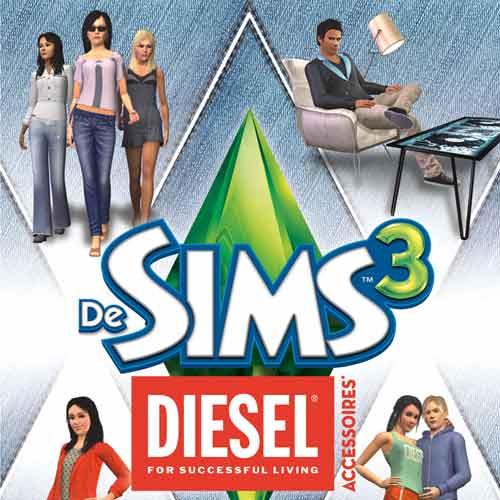 Sims 3 Diesel Accessoires