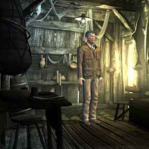 Sinking Island Screenshot - Im Inneren einer Hütte