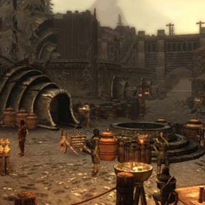 Skyrim Dragonborn - Stadt