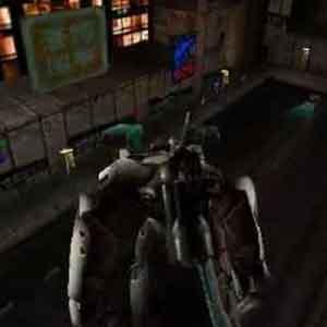 Slave Zero Screenshot: Im Inneren des Komplexes