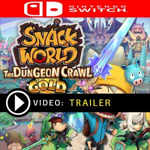 SNACK WORLD THE DUNGEON CRAWL GOLD Nintendo Switch Prices Digital or Box Edition