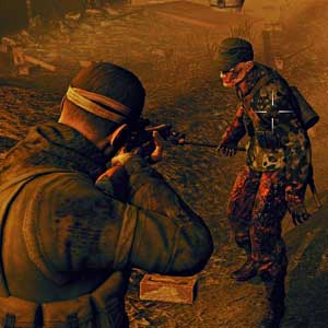 Sniper Elite Nazi Zombie Army 2 - Zombie-Ziel