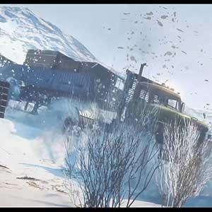 SnowRunner Schnee-LKW