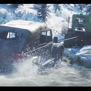 SnowRunner Lkw-Auto