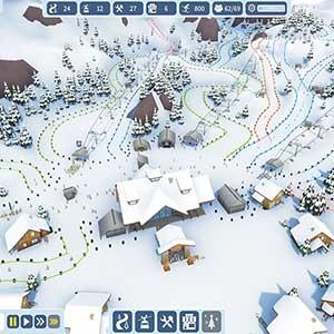Snowtopia Ski Resort Builder Piste Schwierigkeit