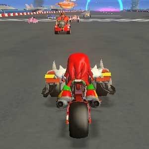 Sonic All Stars Racing Transformed - Motorrad