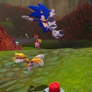 Sonic Boom Rise of Lyric Nintendo Wii U Gameplay